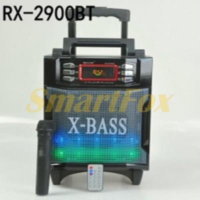 Портативная колонка Bluetooth RX2900-BT в виде чемодана