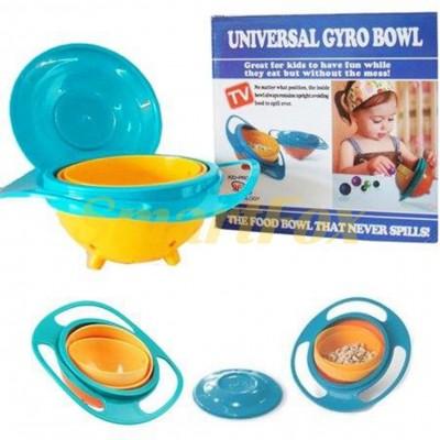 Тарелка-непроливайка для детей UNIVERSAL GYRO BOWL