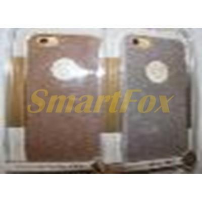 Чехол COV-029 для IPHONE 6 силиконовый с блестками прозрачный бампер (в упаковке)
