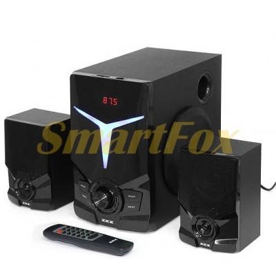 Акустическая система 2.1 ZXX ZX-4800BT 15Вт+2х5Вт BT/FM/USB/SD/ДУ