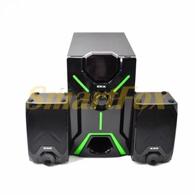 Акустическая система 2.1 ZXX ZX-4805BT 15Вт+2х5Вт BT/FM/USB/SD/ДУ