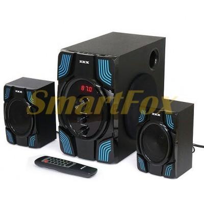 Акустическая система 2.1 ZXX ZX-4807BT 15Вт+2х5Вт BT/FM/USB/SD/ДУ