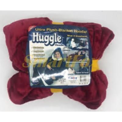 Плед с капюшоном STX-0330 HUGGLE HOODIE (BIG SIZE)