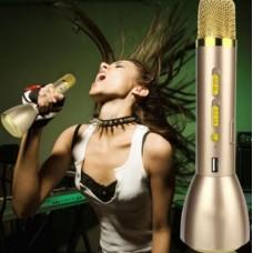 Микрофон-караоке беспроводной K088 с USB слотом и динамиком