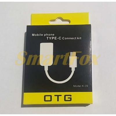 Переходник (адаптер) KYIN OTG Type-C/USB K-09