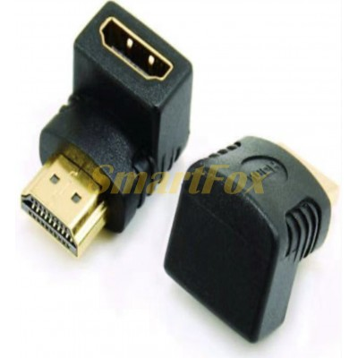Переходник HDMI F/HDMI M L