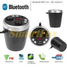 АЗУ 2USB + FM-модулятор Bluetooth X7 Стакан