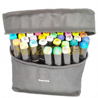 Маркер для скетчинга Thiscolor набор 60 шт (продажа только упаковкой, цена за упаковку)