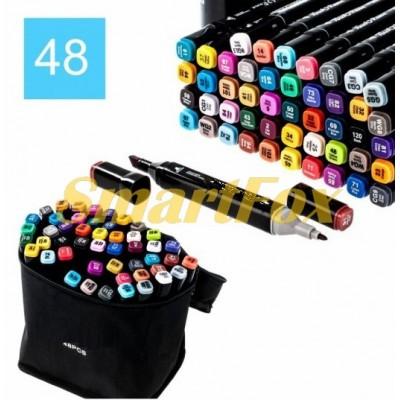 Маркер для скетчинга Thiscolor набор 48 шт (продажа только упаковкой, цена за упаковку)