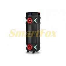 Портативная колонка в виде чемодана Wesyman Q82 80Вт 8 дюймов USB/SD/FM/BT/MIC (89x37x35см)