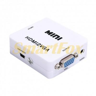 Конвертер HDMI/VGA видео с аудио 1080P