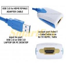 Адаптер (конвертер) USB 3.0/HDMI 1920x1080 Full HD