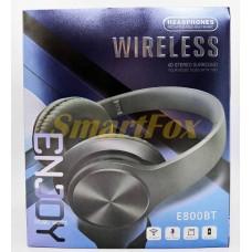 Наушники беспроводные Bluetooth E800BT (Красный)