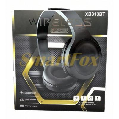 Наушники беспроводные Bluetooth XB310BT (Черный)