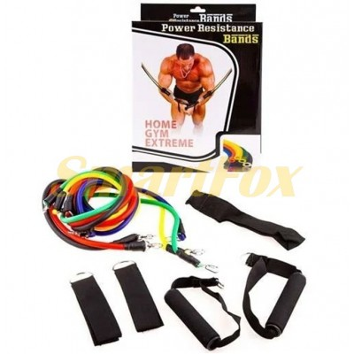 Набор эспандеров для фитнеса и спорта SL -1107