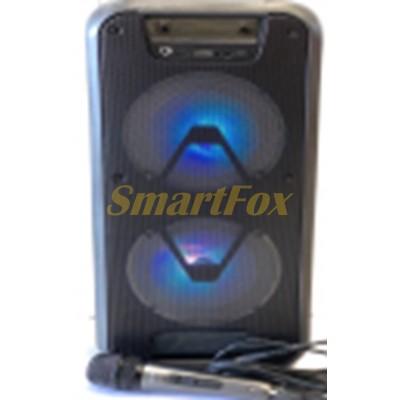 Портативная колонка Bluetooth в виде чемодана ESS-601 10W (51х23,5х20 см) + микрофон