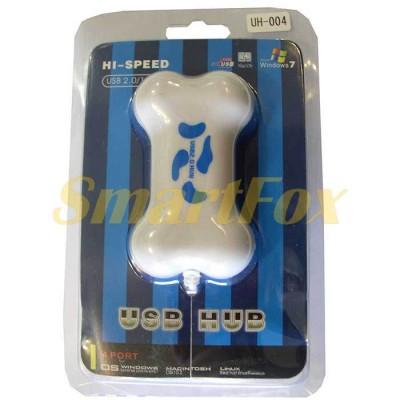 Хаб USB на 4 порта UH-004 (кость)