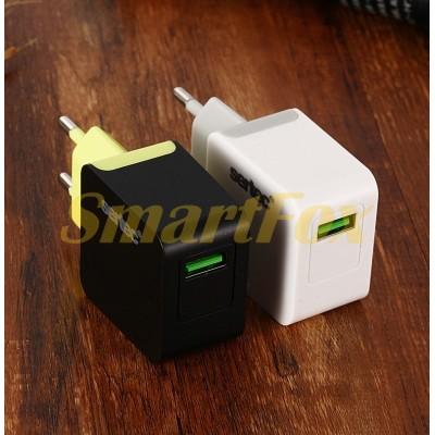 СЗУ USB 1,2A SERTEC ST-1010 6W FULL BLACK