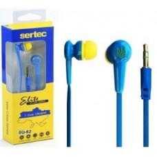 Наушники ваккуумные SQ-52 для MP3/MP4 (BLUE & YELLOW) (9532)