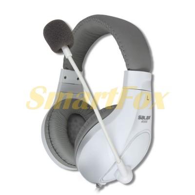 Наушники накладные с микрофоном SALAR A566