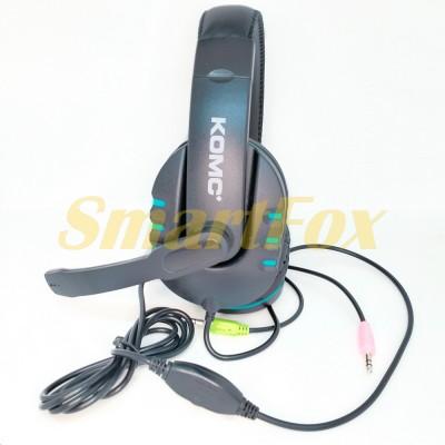 Наушники накладные с микрофоном KOMC K4