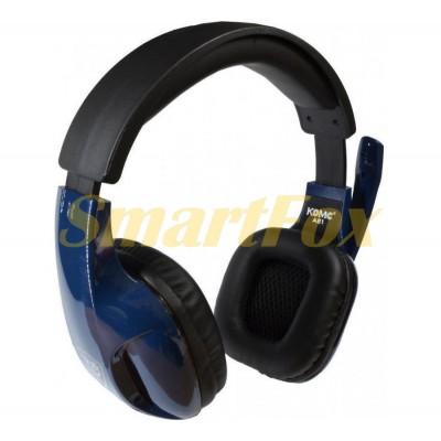 Наушники накладные с микрофоном KOMC A21