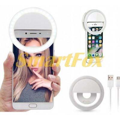 Вспышка-подсветка светодиодная для телефона SL-1234 (пластик)