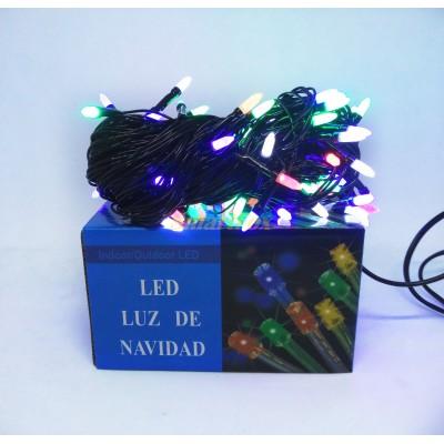 Гирлянда LED100M-3 100led (цвет микс) (без возврата, без обмена)