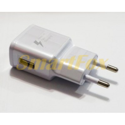 СЗУ USB S8 Quick Charger WHITE