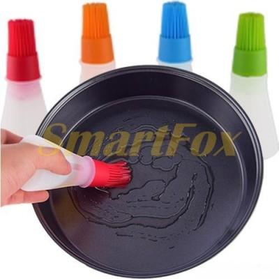 Дозатор для масла силиконовый с щеткой
