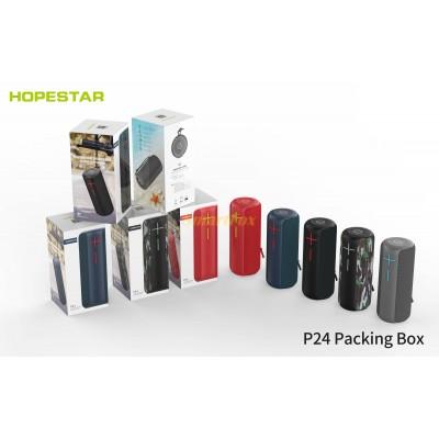 Портативная колонка Bluetooth HOPESTAR P24 (Черный, Серый, Красный)