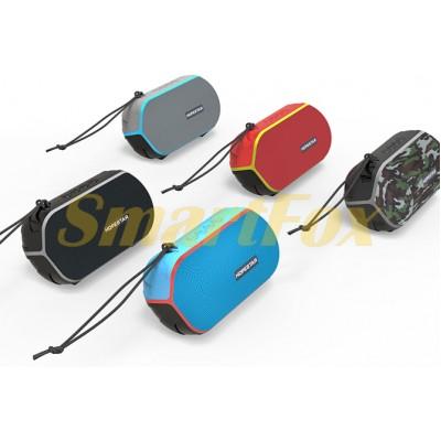 Портативная колонка Bluetooth HOPESTAR T6 mini (Камуфляж, Черный, Красный, Синий)