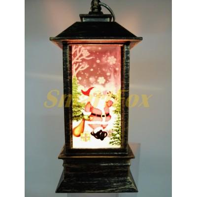 Декоративные новогодние фонари SG 046F-1 (без возврата, без обмена)