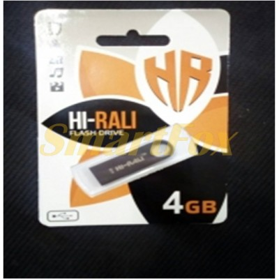 Флеш память USB 4Gb HI-RALI SHUTTLE BLACK