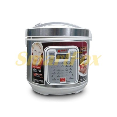 Мультиварка BITEK BT-00032 6,0л 1500Вт 32 программы +йогуртница