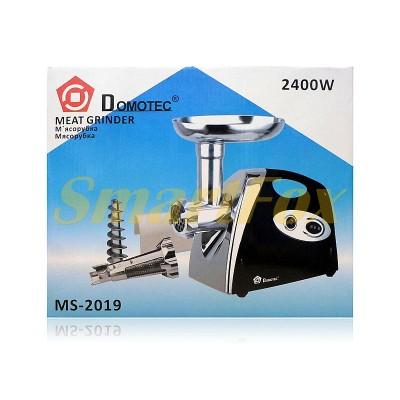 Мясорубка-соковыжималка электрическая Domotec MS-2019 2400Вт
