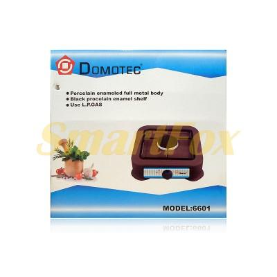 Плита газовая Domotec MS-6601 (1 конфорка)