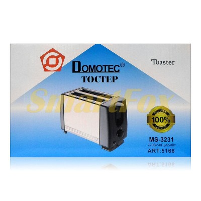 Тостер Domotec MS-3231 650Вт