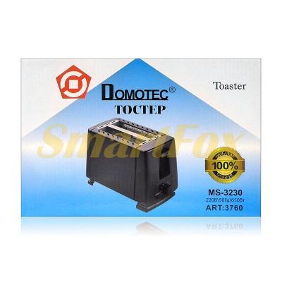 Тостер Domotec MS-3230 650Вт 6 режимов