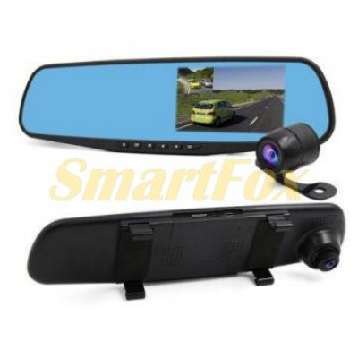 Авторегистратор зеркало заднего вида DVR 4.3 L9000+ камера заднего вида