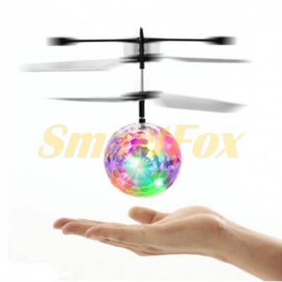 Летающий диско мяч-шар Whirly Ball Led