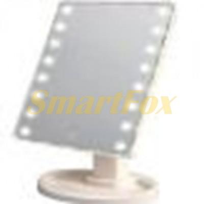 Зеркало косметическое LED Mirror XW-085 сенсорное с подсветкой
