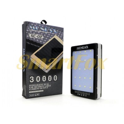 УМБ (Power Bank) MONDAX SC-02M Solar 30000mAh (6000mAh)