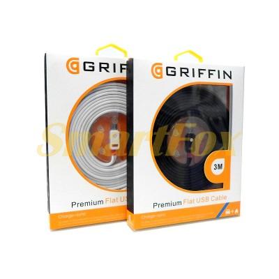 Кабель microUSB (V8) Griffin G-V8-3M (3 м)