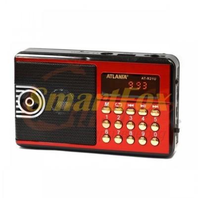 Радиоприёмник с USB ATLANFA AT-R21U