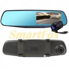 Авторегистратор-зеркало с камерой заднего вида (2 камеры) D65