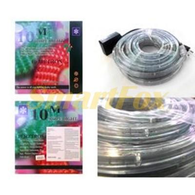 Шланг светодиодный (белый) ROPE LIGHT-10M-W (10 м) (без возврата, без обмена)