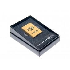 Электроимпульсная USB зажигалка с аккумлятором TOYOTA