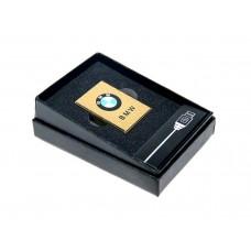 Электроимпульсная USB зажигалка с аккумлятором BMW