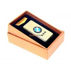 Электроимпульсная USB зажигалка с аккумлятором BMW Elite